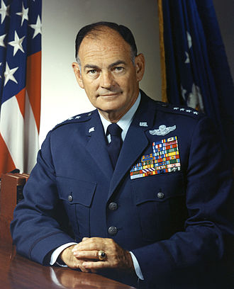 Operation Menu - Air Force General George S. Brown, the man who informed the Senate Armed Services Committee