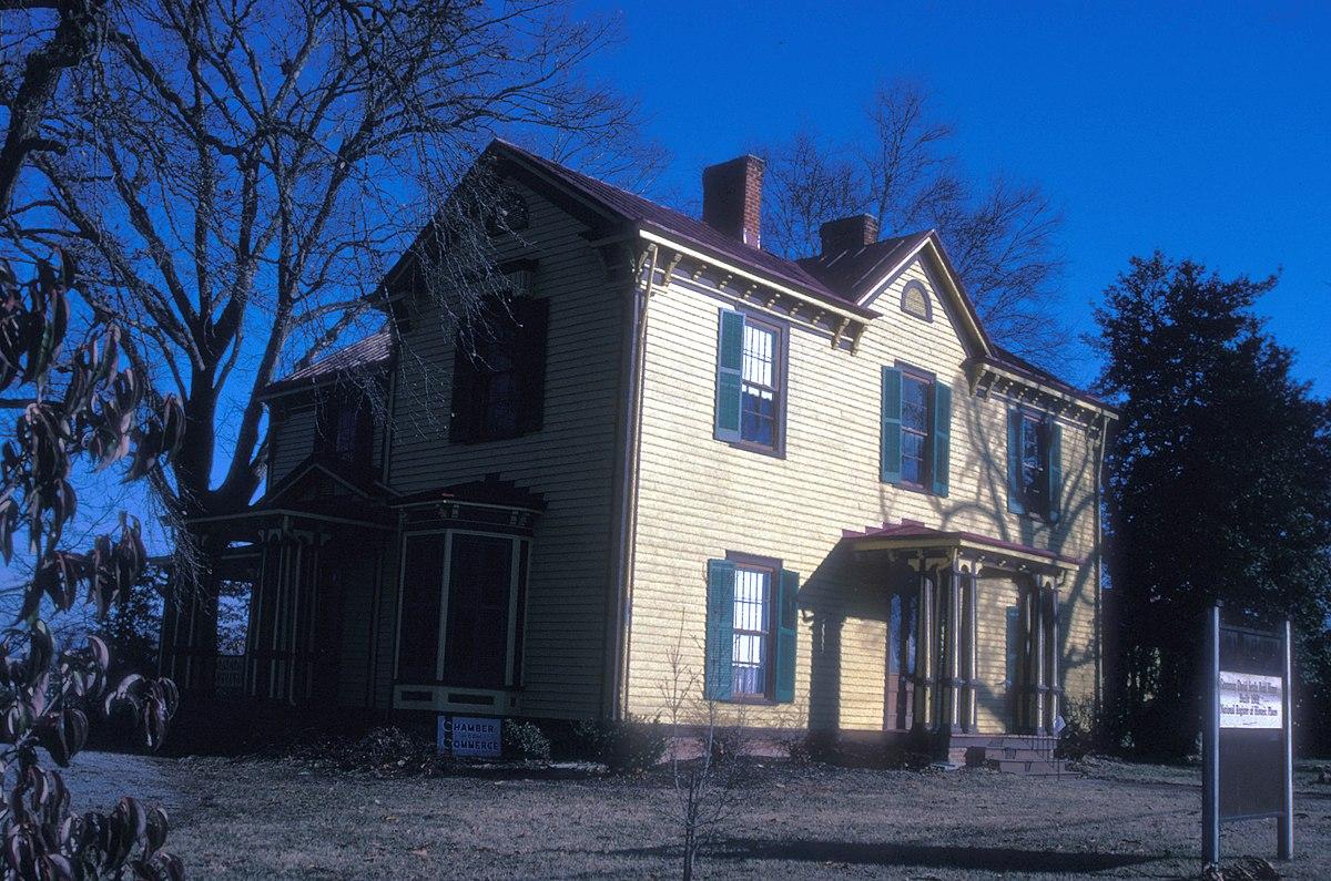 Gov David S Reid House Wikipedia