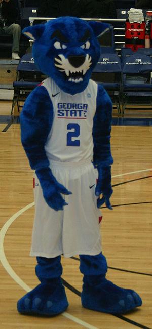 Pounce (mascot) - Pounce, the current Georgia State University mascot.