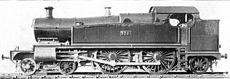 GWR 2221 Class - Image: GWR County tank class 2221 (Howden, Boys' Book of Locomotives, 1907)
