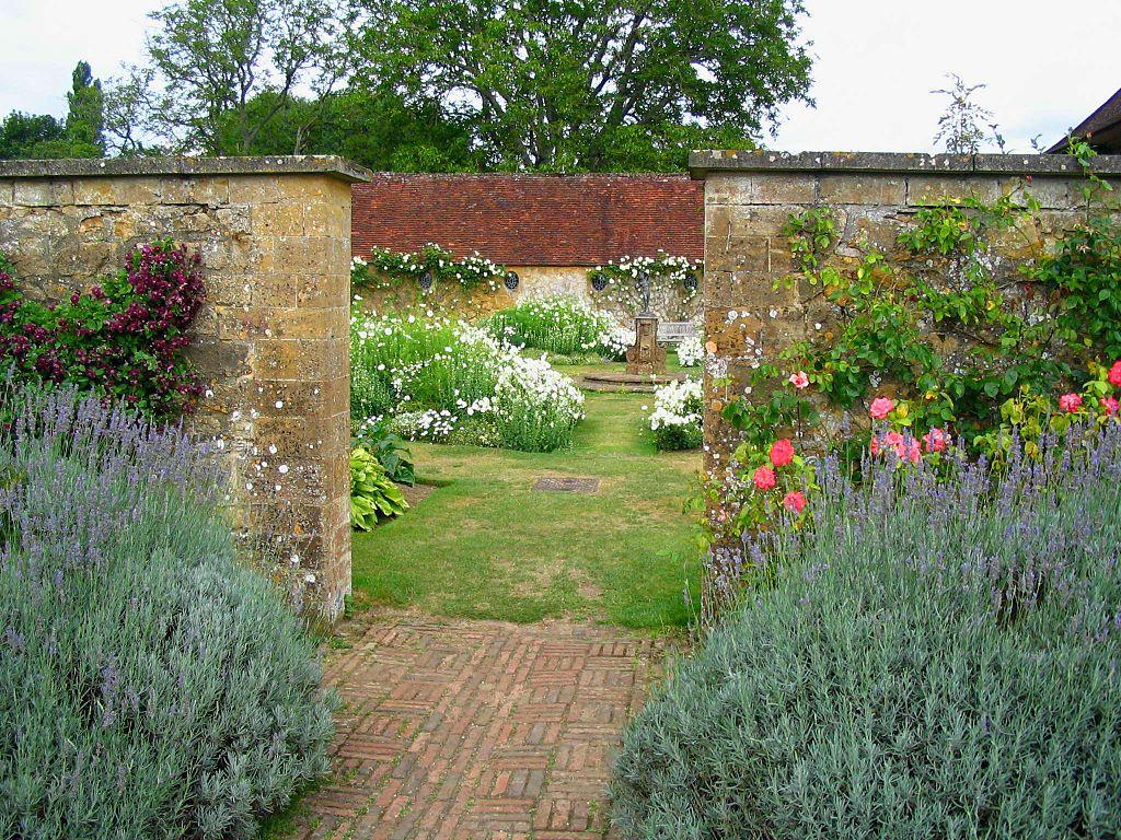 G Jekyll enclosed garden