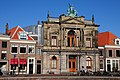 Gable of the Teylershouse 1758-1858 in bright sunshine - panoramio.jpg