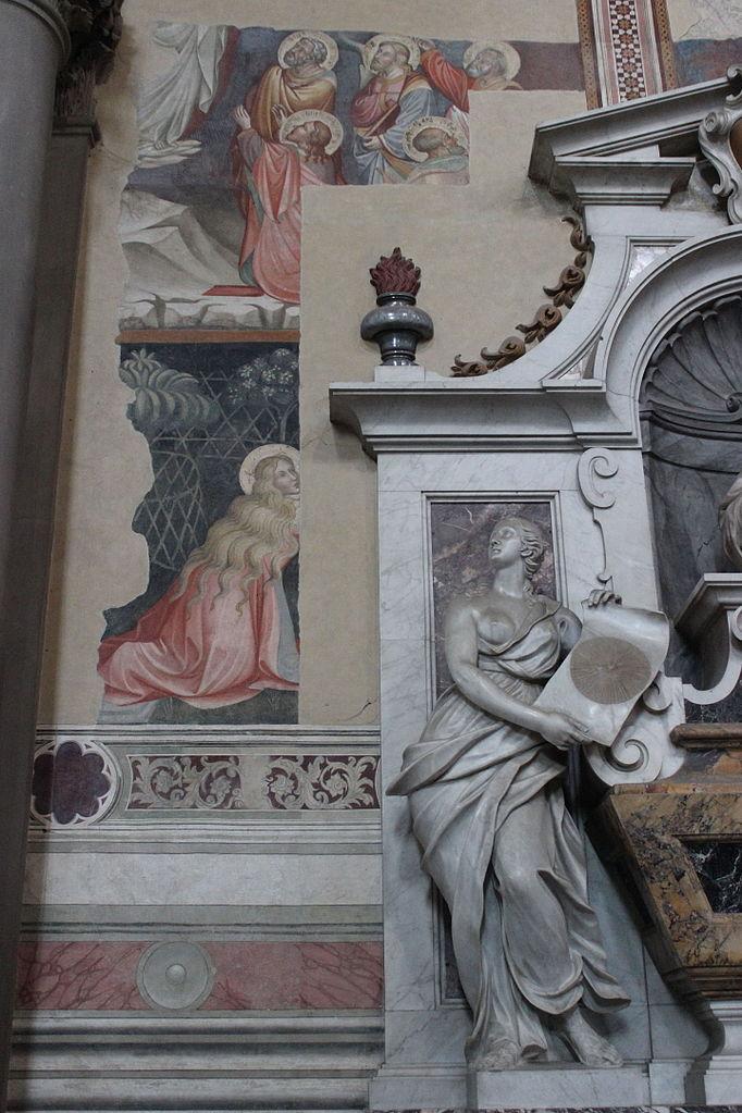Vincenzo Foggini, tomba di Galileo Galilei, (particolare)Basilica of Santa Croce,Firenze