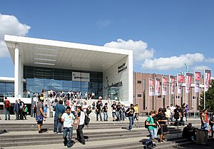 Video game industry - The gamescom in Cologne, the major gaming fair by attendance.
