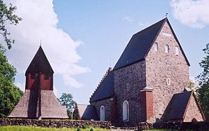 Anders Celsius - Celsius is buried at Uppsala Church in Gamla Uppsala next to his grandfather