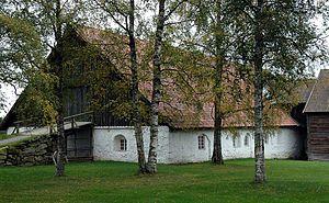 Nes, Akershus - Gamle Hvam Museum in Nes