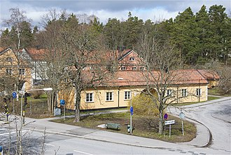 Stureby - Image: Gammelbyn Stureby 2012