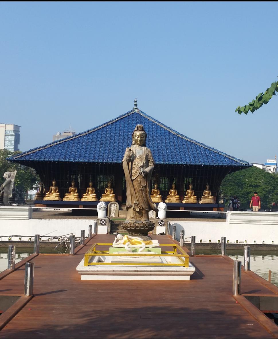 Gangaramaya Temple SL2