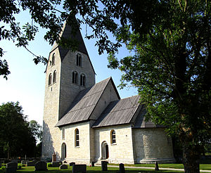 Ganthem Church - Image: Ganthems kyrka Gotland Sverige 4