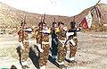 Garde du drapeau du 6e R A Ma djibouti 1979.jpg