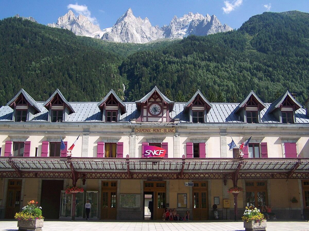 Gare de chamonix mont blanc wikip dia for Chamonix piscine