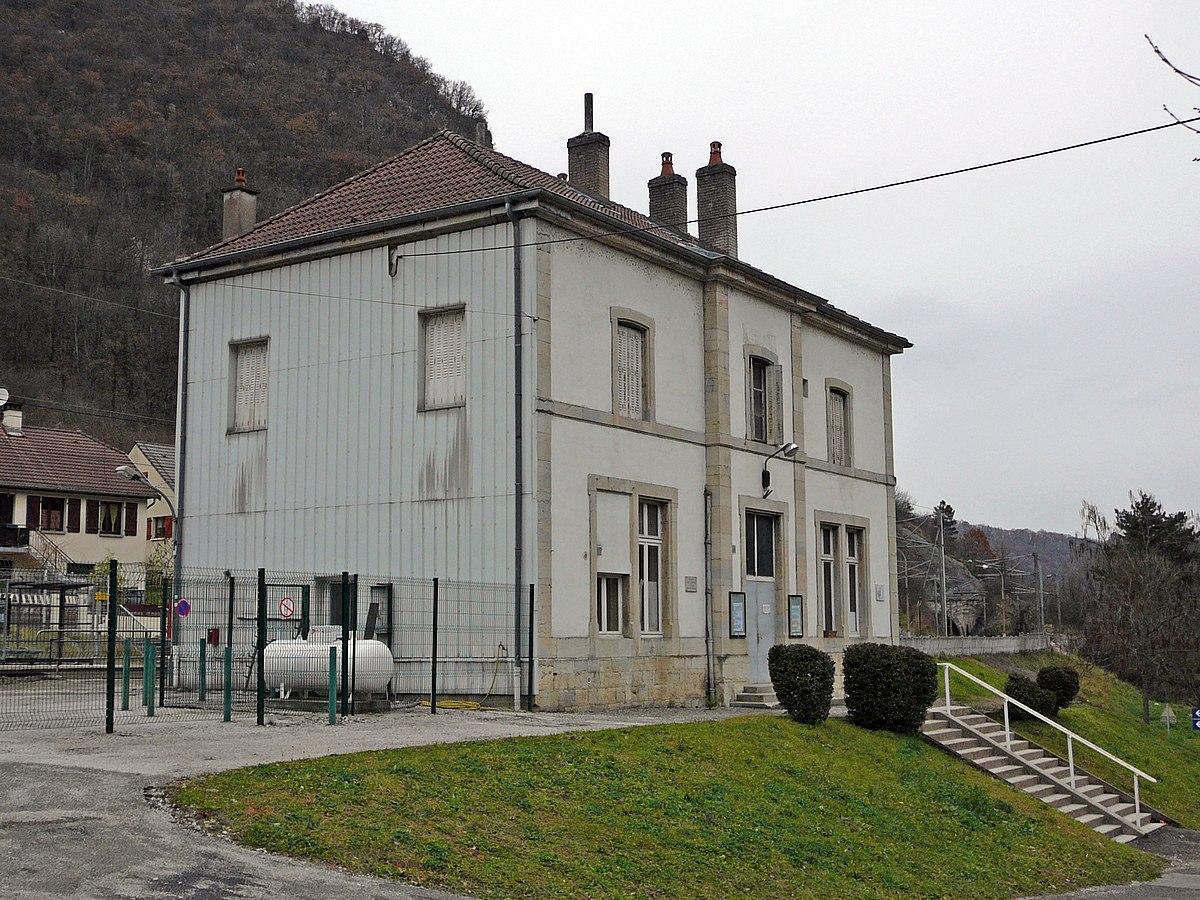 Gare de laissey wikip dia for Garage de la gare pontault
