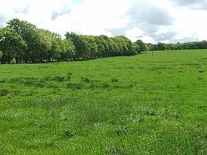 English: Garlaff Farm near Skares This beautif...