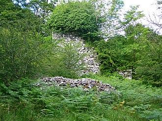 Kirkcudbrightshire - Image: Garlies Castle geograph.org.uk 503764