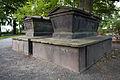 Gartenfriedhof cemetery Marienstrasse Hanover Germany graves Karl Friedrich Alexander von Arnswald Henriette Louise Elisabeth von Arnswald.jpg