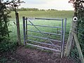 Gate on bridleway - geograph.org.uk - 433423.jpg