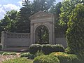 Gate to Flora Place from Grand Avenue.jpg