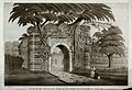 Gateway to the tomb of Husain Shah at Gaur, West Bengal. Etc Wellcome V0050448.jpg