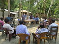 Gathering in a meeting of villagers in an Bangladeshi village 2015 17.jpg