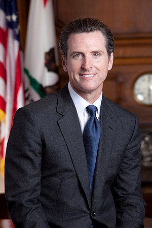 Gavin Newsom - Image: Gavin Newsom official photo