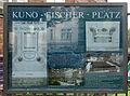 Gedenktafel Kuno-Fischer-Platz (Charl) Kuno-Fischer-Platz.jpg