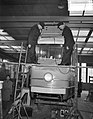 Gelede trams in aanbouw voor Amsterdam bij Beijnes, Bestanddeelnr 908-3741.jpg