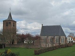 Gendt City in Gelderland, Netherlands