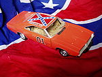 1:18 scale model of the 1969 Dodge Charger used in The Dukes of Hazzard