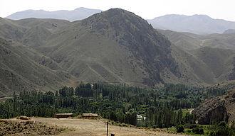 Geography of Iran - Image: Geographic sample iran
