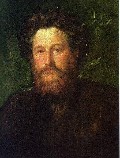 George Frederic Watts portrait of William Morris 1870