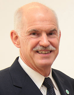 George Papandreou Greek politician, president of the Socialist International