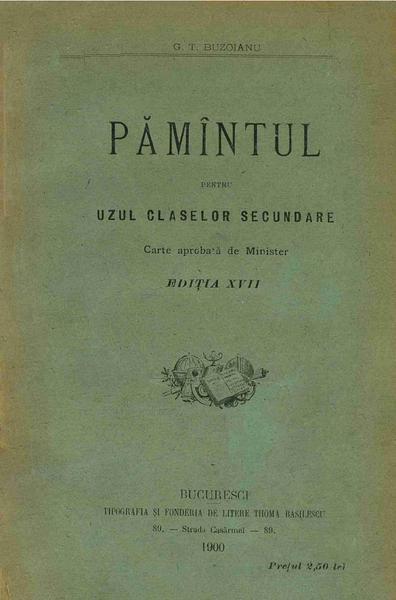 File:George T. Buzoianu - Pămîntul - pentru uzul claselor secundare.pdf