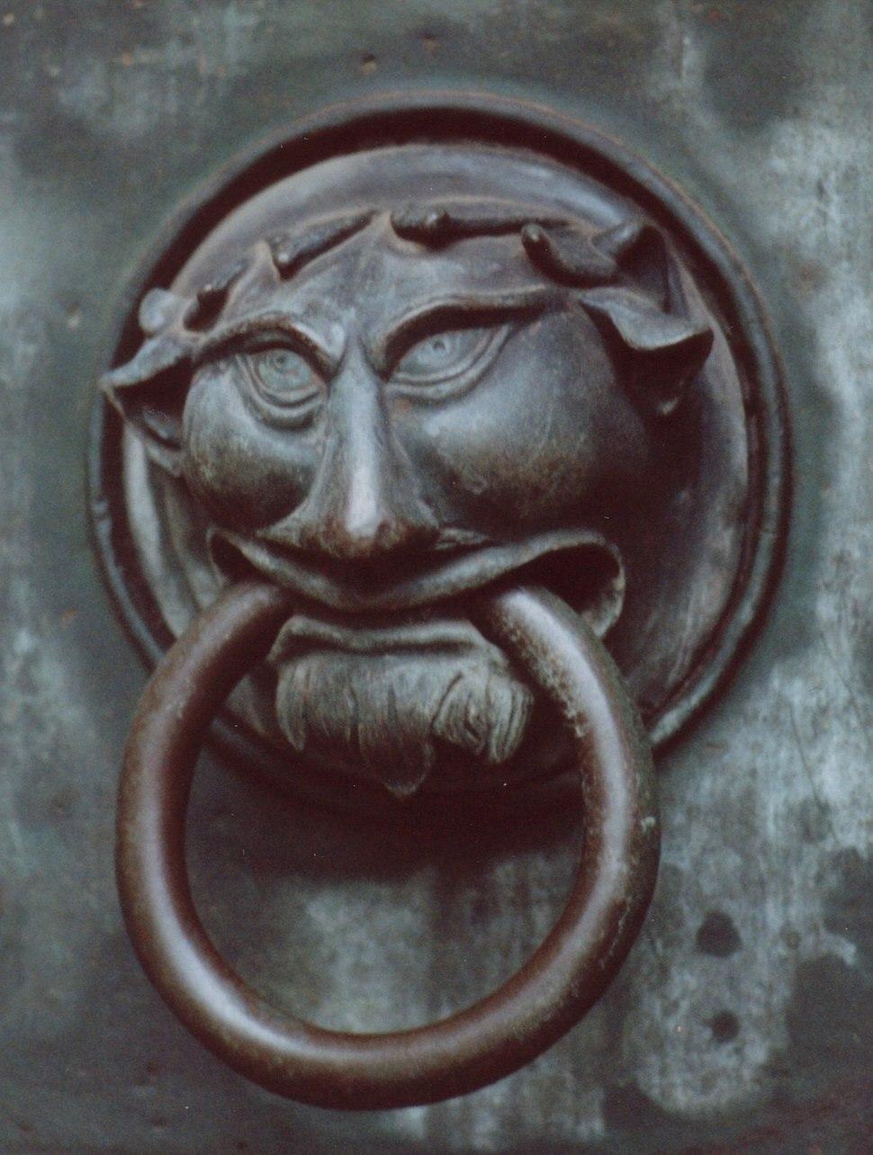 Germany Augsburg Dom-St-Maria Door Handle