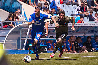 Getafe CF - Pedro León with Getafe in 2013