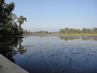 Ghodaghodi Tal - Image: Ghodaghodi Lake 1