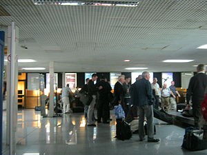 Baggage Hall at Gibraltar Airport