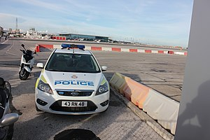 Gibraltar Defence Police car (1)