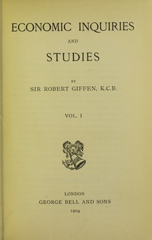 Giffen - Economic inquiries and studies, 1904 - 5848104.tif