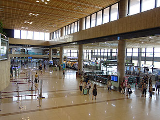 Gimpo International Airport - International Terminal at Gimpo Airport, Seoul, South Korea