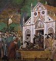 Giotto di Bondone - Legend of St Francis - 23. St. Francis Mourned by St. Clare - WGA09151.jpg