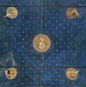 Star Chamber - Starry vault of the Scrovegni Chapel, frescoed by Giotto