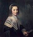 Girl holding a fan, by Hendrik Cornelisz van der Vliet.jpg