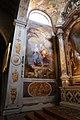 Giulio quaglio, afferschi della cappella di san giuseppe nel duomo di trieste, 1706, 02 fuga in egitto.jpg