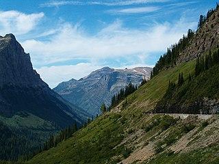 Outline of Glacier National Park (U.S.)