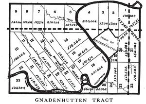 Moravian Indian Grants - Gnadenhutten Tract