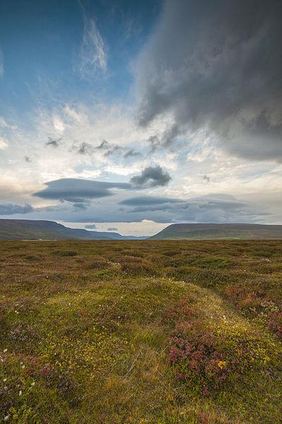 File:Goðafoss y sus espectaculares cielos (10154620616).jpg