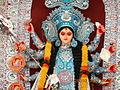 Goddess Durga - Gandhinagar, Nashik.JPG