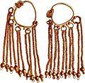 Gold earings, Byzantine, 4th-6th century.jpg