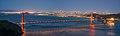 Golden Gate Bridge and San Francisco skyline from Hawk Hill at Blue Hour dllu.jpg