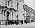 Good Friday (or Palm Sunday) in front of Old St Louis Cathedral New Orleans 01.jpg